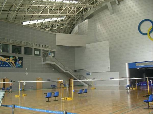 杭州黃龍體育館-羽球區