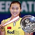 日本羽球赛女单决赛 王仪涵2-1力克周蜜首夺桂冠