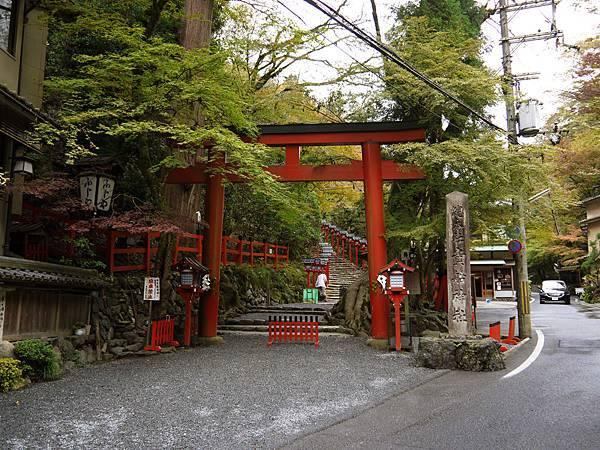 1109-貴船神社鳥居