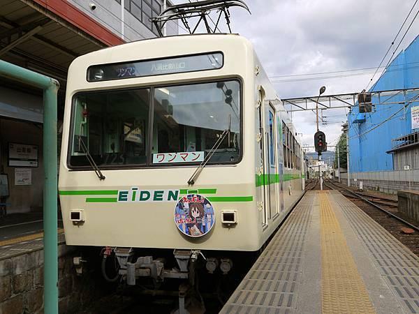 1109-叡電車廂