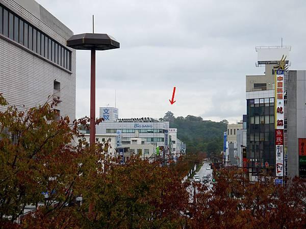 1111-JR彥根站遠眺