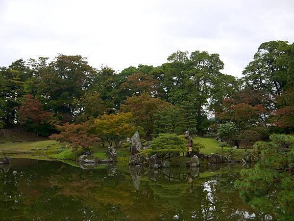 1111-彥根城玄宮園景色