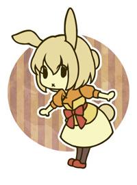 狐仙紙袋-兔子