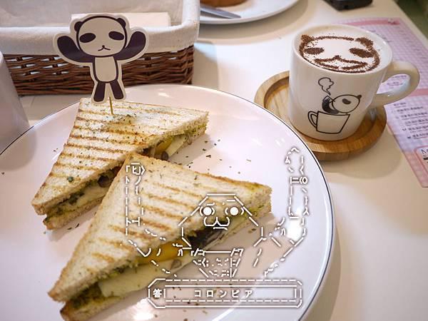 熊貓君三明治