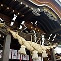 櫛田神社向拜
