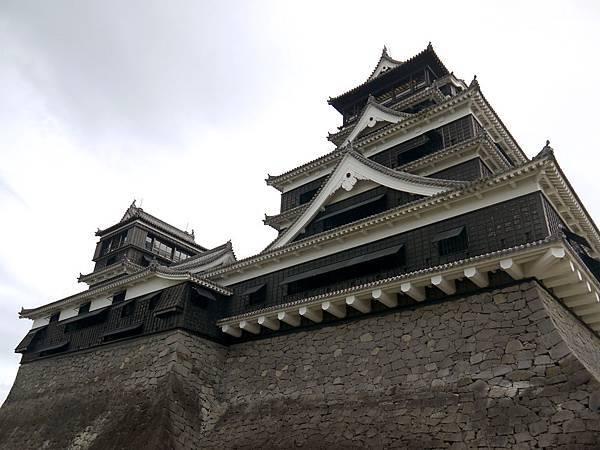 熊本城大小天守