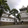 小倉城天守閣入口