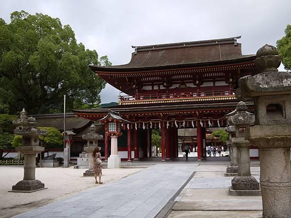 天滿宮正門