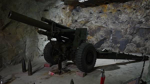 獅山砲陣地榴彈炮