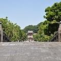 遠眺鶴岡八幡宮