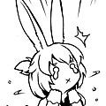 慌張的玉兔