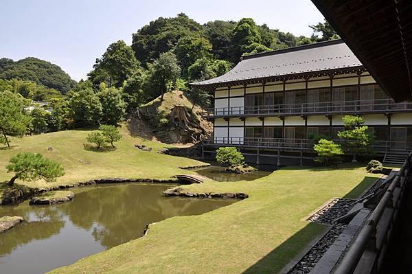 建長寺得月樓與庭園