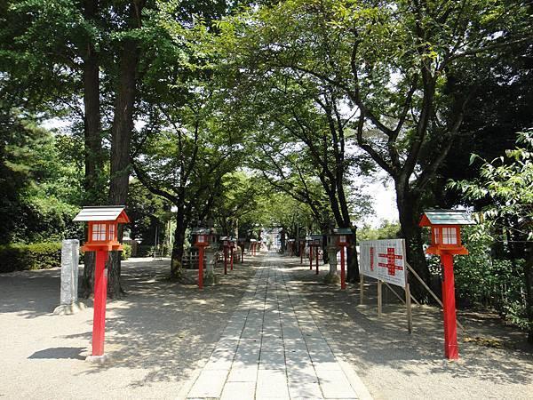 鷲宮神社參道二