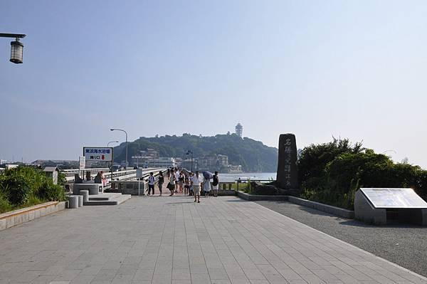 通往江之島的大橋