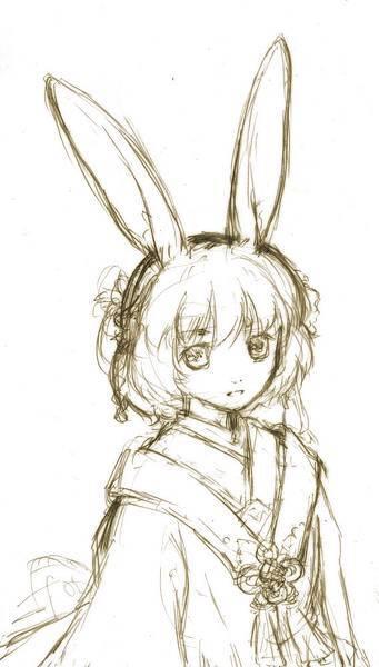 玉兔梔兒草稿