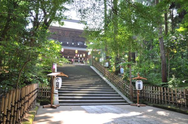 圓覺寺石階段