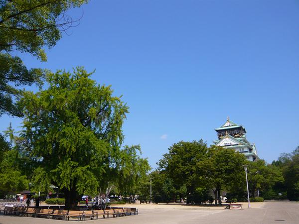 0907大阪城天守前.jpg