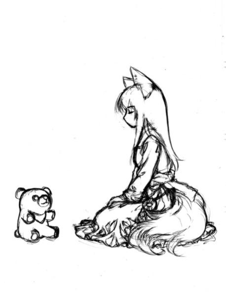 狐仙之四封面草稿