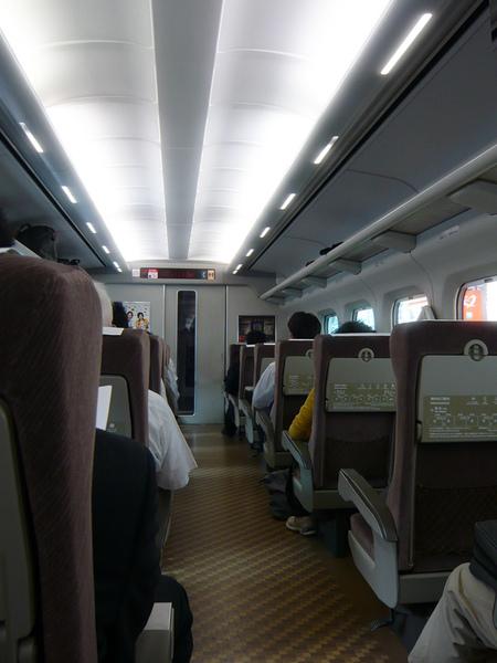 新幹線內部