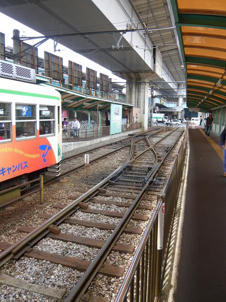 荒川線王子站2
