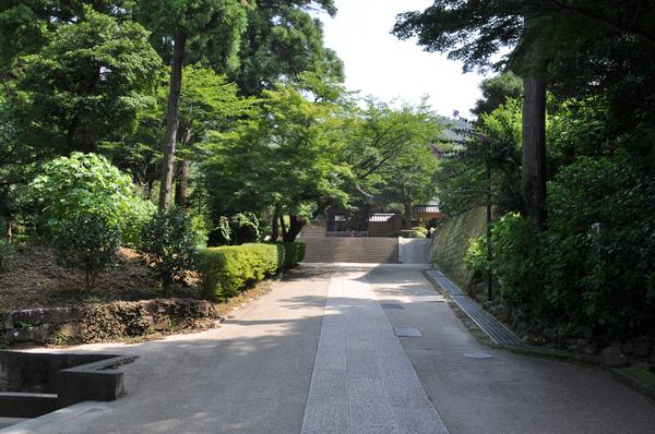 圓覺寺境內