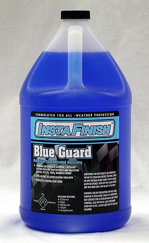 BLUEGUARD 塑料保養