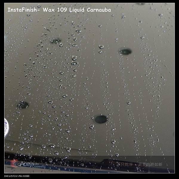 撥水性 下InstaFinish- Wax 109 Liquid Carnauba