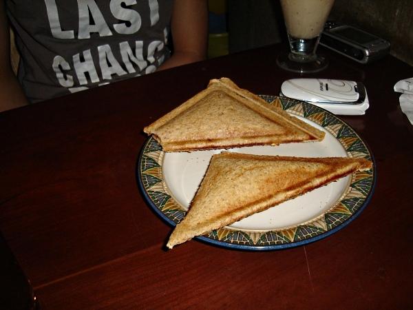燻雞三明治/漂浮奶茶