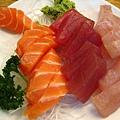 阿萬生魚片 綜合生魚片