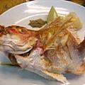 阿萬生魚片 烤魚