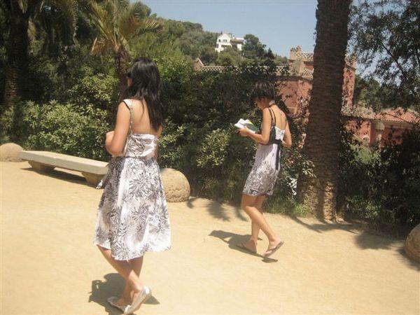 去Gaudi公園
