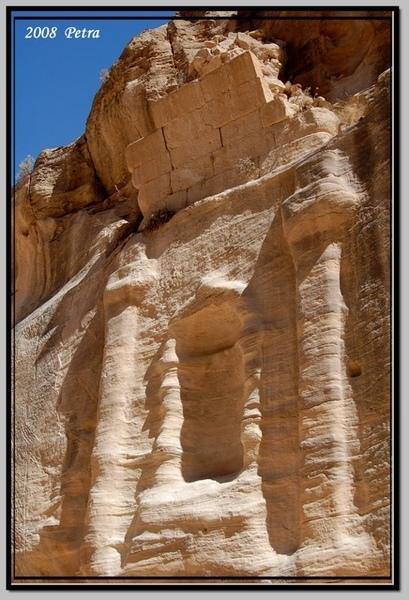 Petra古城雕刻