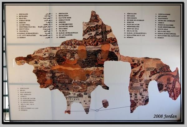 有名的聖地地圖