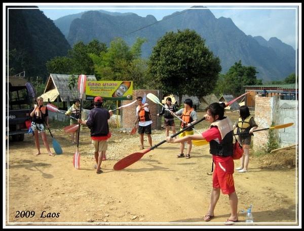 划獨木舟練習