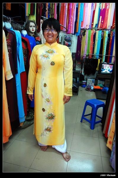 量身訂做越南衣服