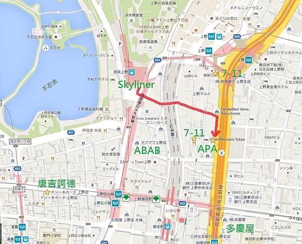 上野地圖-新