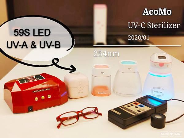 59S LED UVA & UVB