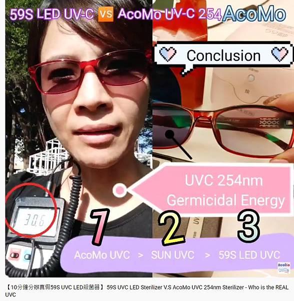 UVC AcoMo Sun 59S