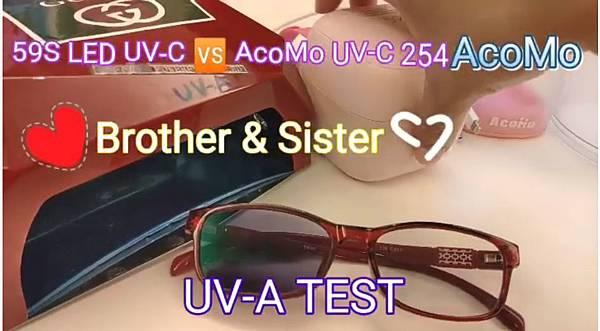 LED UVA Borther & Sister