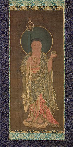 298px-Goryeo-Kshitigarbha_(Chijang)-late_14c.jpg