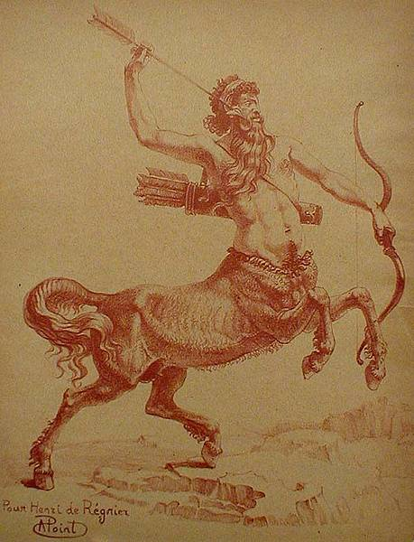 Le-Centaur-Chiron-by-Armand-Point.jpg