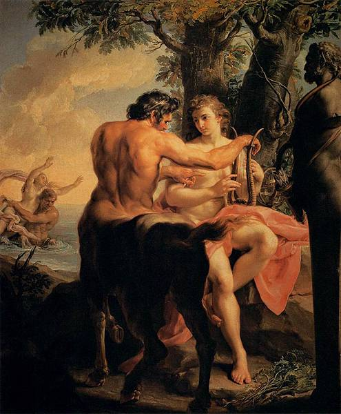 Pompeo_Batoni_-_Achilles_and_the_Centaur_Chiron_-_WGA1498