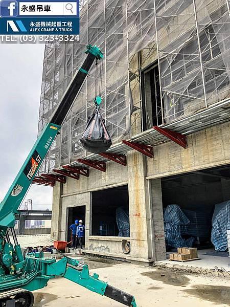 桃園蜘蛛吊車 侷限空間吊掛 設備搬運 設備吊掛 設備定位