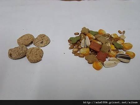 APD健康南瓜餅、星光幫寵物鼠綜合水果餐