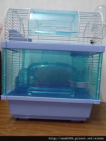 皇冠摩天系列第二代雙層果凍樓中樓墜道鼠籠