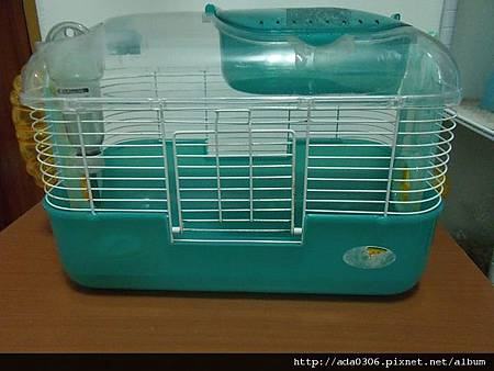 Wild粉綠色寵物鼠互動籠二代
