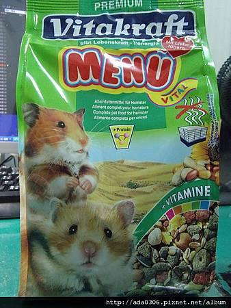 VITA倉鼠天然Menu主食400g