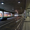 澳門機場外的街景