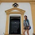聖母雪地殿教堂門口