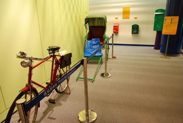 三輪車與黃包車